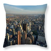 New York, New York 27 Throw Pillow