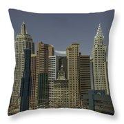 New York New York View 1 Throw Pillow