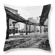 New York: Ninth Avenue Throw Pillow