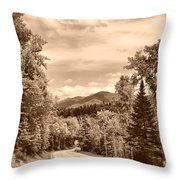 New York Roadway Throw Pillow