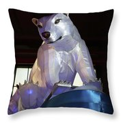 New York State Chinese Lantern Festival 7 Throw Pillow