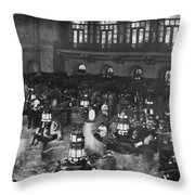 New York Stock Exchange Throw Pillow