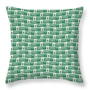 New York Street Sign Times Square  Throw Pillow
