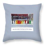 New York Streetscapes 2016 Throw Pillow