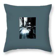 New York Stroll Throw Pillow