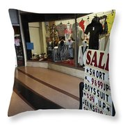 New York Style In Color Throw Pillow