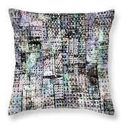 New York Syncopation Throw Pillow