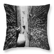 New York: Tenement, C1890 Throw Pillow