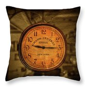 New York Times Throw Pillow