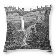 New York: Waterfall Throw Pillow