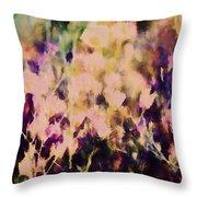 New York Wildflowers Xiii Throw Pillow