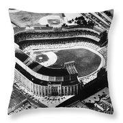 New York: Yankee Stadium Throw Pillow