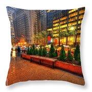 New York05 Throw Pillow