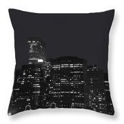 New York09 Throw Pillow