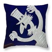 New Yorker April 11 1959 Throw Pillow