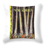 New Yorker April 4 1959 Throw Pillow