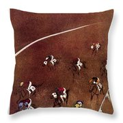 New Yorker August 17 1957 Throw Pillow