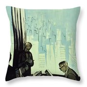 New Yorker January 16 1960 Throw Pillow