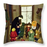 New Yorker January 21 1950 Throw Pillow