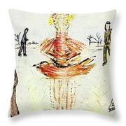 New Yorker January 30 1954 Throw Pillow