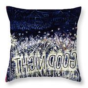 New Yorker July 4 1953 Throw Pillow