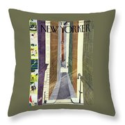 New Yorker July 5th, 1947 Throw Pillow
