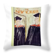 New Yorker June 1 1957 Throw Pillow