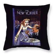New Yorker June 5 1954 Throw Pillow