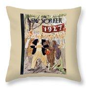 New Yorker June 7 1952 Throw Pillow
