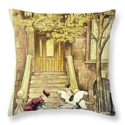 New Yorker May 16 1953 Throw Pillow