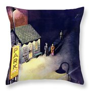 New Yorker May 2 1953 Throw Pillow