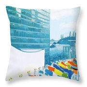 New Yorker November 14th, 1964 Throw Pillow