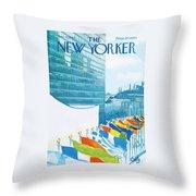 New Yorker November 14th, 1964 Throw Pillow