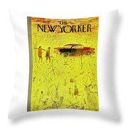 New Yorker November 15 1958 Throw Pillow