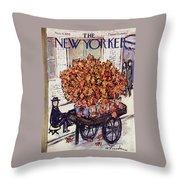 New Yorker November 8 1958 Throw Pillow