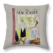 New Yorker October 4 1958 Throw Pillow