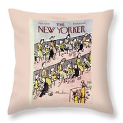 New Yorker September 10 1949 Throw Pillow