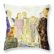 New Yorker September 19 1953 Throw Pillow