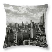 New Your City Skyline Throw Pillow