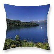New Zealand, Rotorua Throw Pillow