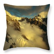 New Zealand, South Island Throw Pillow