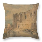 Newark - Upon - Trent Throw Pillow