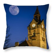 Newberry Opera House Throw Pillow