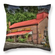 Newburgh Country Store Vignette Throw Pillow