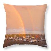Newburyport Harbor 2016 Throw Pillow