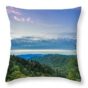 Newfound Gap. Throw Pillow