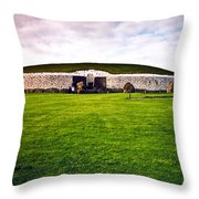 Newgrange Morning Throw Pillow