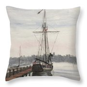 Newport, Rhode Island Throw Pillow