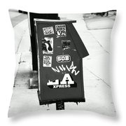 News Throw Pillow