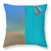 Newtons Law Throw Pillow